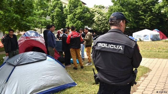 Bosnien und Herzegowina - Migranten in Sarajevo