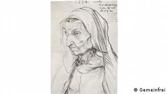 Портрет матери Дюрера