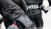 Demonstration Journalisten Presse