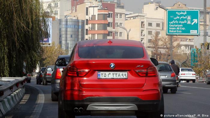 BMW in Tehran