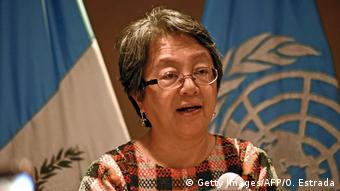 UN special rapporteur on indigenous peoples, Victoria Tauli-Corpuz (Getty Images/AFP/O. Estrada)