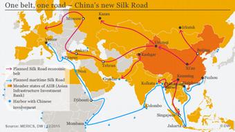 Γερμανικές εταιρείες θέλουν να αποφύγουν να μείνουν εκτός παιχνιδιού στο Νέο Δρόμο του Μεταξιού της Κίνας.