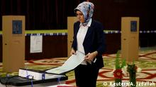 Irak Wahl | Stimmabgabe Wahlkommission in Bagdad