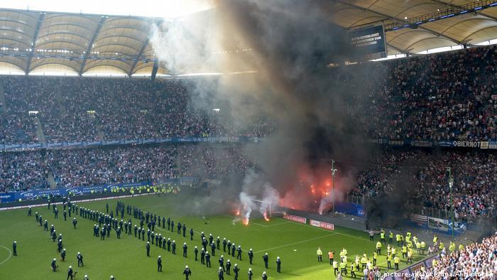 Fußball Bundesliga, 34. Spieltag | Hamburg vs. Mönchengladbach