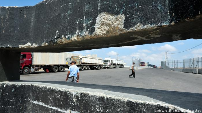 Gaza-Grenzübergang Kerem Schalom