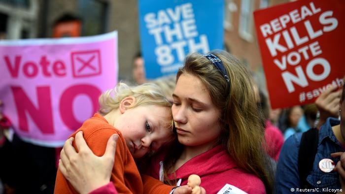Protivnici pobačaja u Irskoj