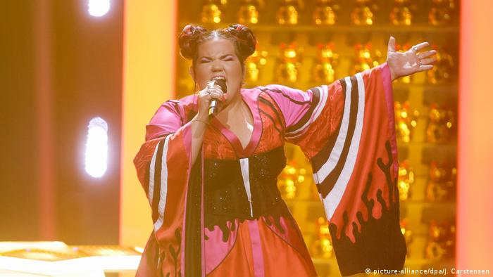 Eurovision Song Contest 2018 - Finale Netta Israel (picture-alliance/dpa/J. Carstensen)