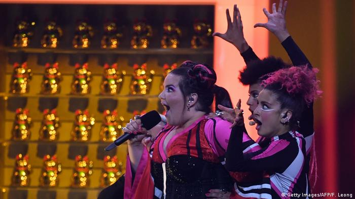 Eurovision Song Contest 2018 - Finale Netta Israel (Getty Images/AFP/F. Leong)