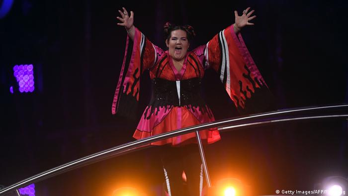 Eurovision Song Contest 2018 - Finale Siegerin Netta Israel (Getty Images/AFP/F. Leong)