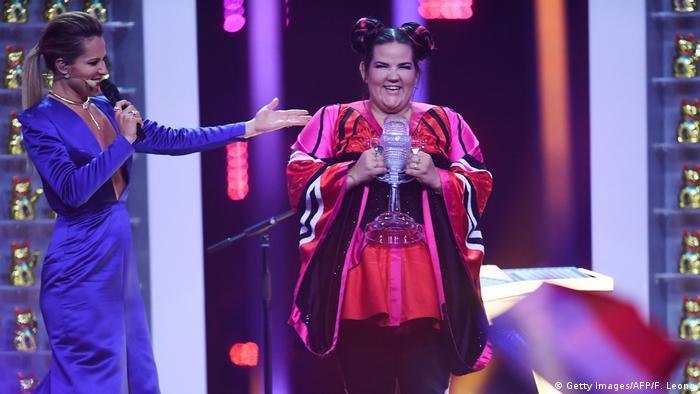 2018 Eurovision Şarkı Yarışması'nı kazanan İsrailli şarkıcı Netta