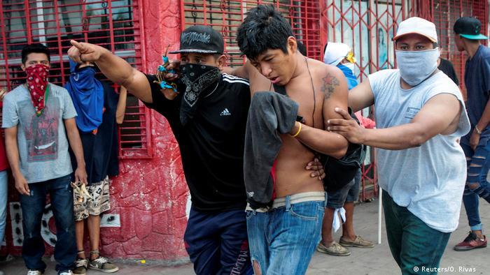 Nicaragua Proteste gegen die Regierung von Präsident Daniel Ortega (Reuters/O. Rivas )
