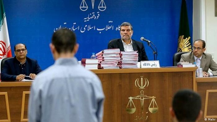 Iran Revolutionsgericht Verhandlung IS (Mehr)