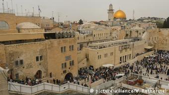 Symbobild Israel Jerusalem Gewalt am Tempelberg