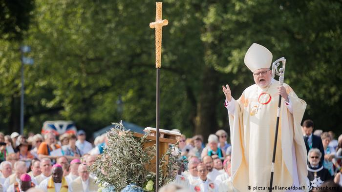 Cardinal Reinhard Marx celebrates Mass in Münster