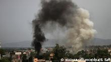 Explosion in Afghanistan (picture-alliance/dpa/S. Safi)
