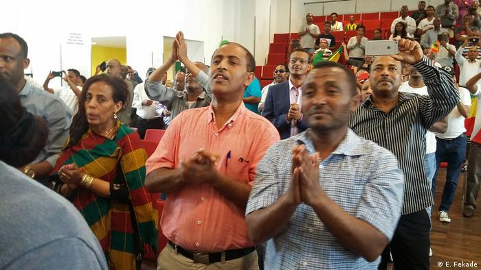 Deutschland 150thanniversary ofEmperor Tewodros celebration in Frankfurt (E. Fekade)