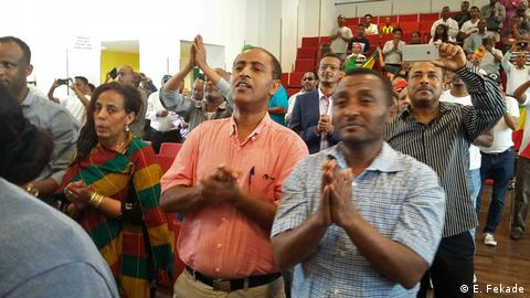 Deutschland 150th anniversary of Emperor Tewodros celebration in Frankfurt