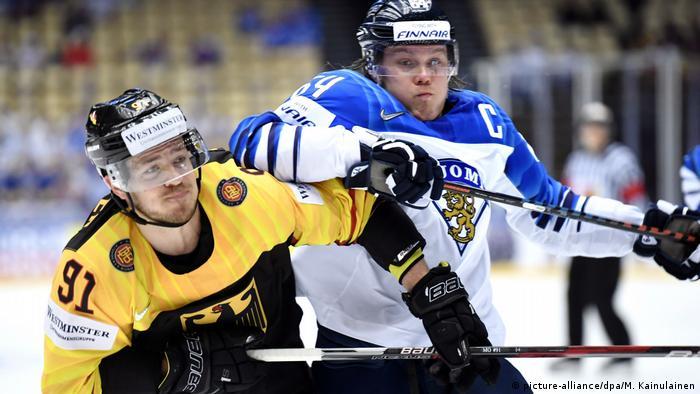 Eishockey Weltmeisterschaft Deutschland Finnland
