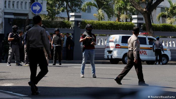 Anschlagsserie in Indonesien (Reuters/Beawiharta)
