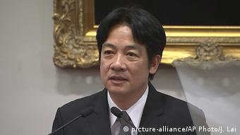 William Lai (picture-alliance/AP Photo/J. Lai)