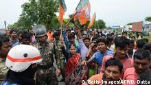 Wahlen in Westbengalen, Indien