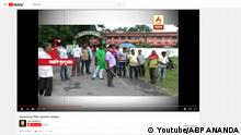 Screenshot Youtube Wahlen in Westbengalen