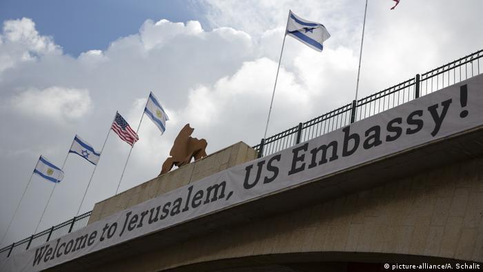 Israel, Jerusalem: Neue US-Botschaft in Jerusalem