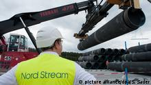 Nord Stream 2-Baustelle in Lubmin
