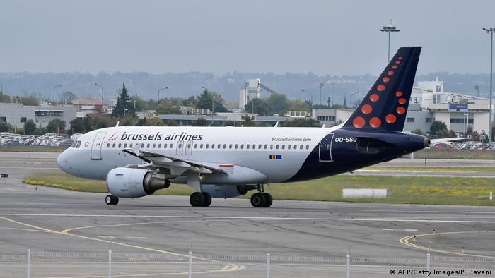 Flugzeug von Brussels Airlines (AFP/Getty Images/P. Pavani)