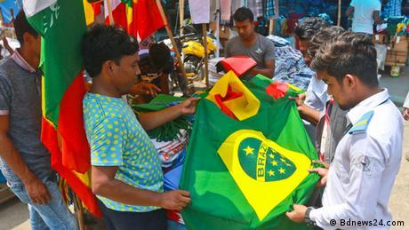 Vorbereitungen für die WM 2018 in Bangladesch (Bdnews24.com)