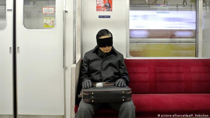 U-Bahn in Tokio (picture-alliance/dpa/F. Robichon)