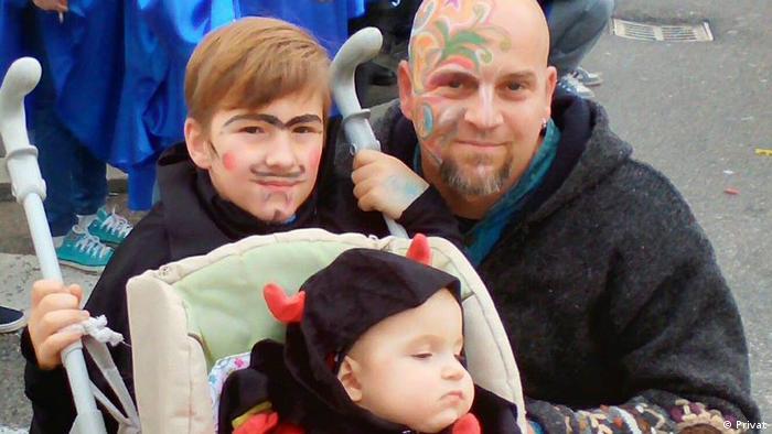 Andrej Puljiz mit Kindern