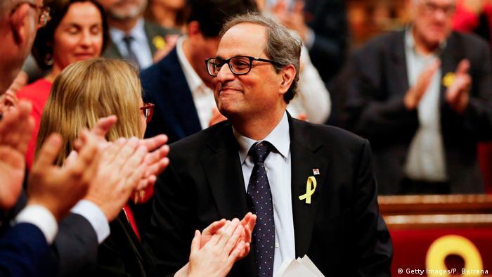 کیم تورا، رئيس جدید دولت محلی کاتالونیا