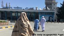 Afghanistan Flughafen in Kabul