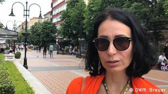 Bulgarien Sofia Katya Ilieva Journalistin