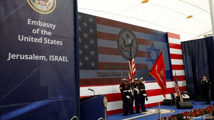 Israel Eröffnung der US-Botschaft in Jerusalem (Reuters/R. Zvulun)