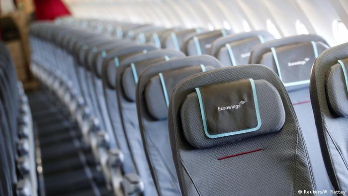 Deutschland Eurowings fliegt von Düsseldorf nach New York