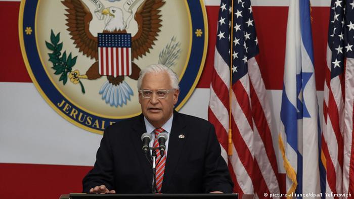 Посол США в Израиле Дэвид Фридман в Иерусалиме