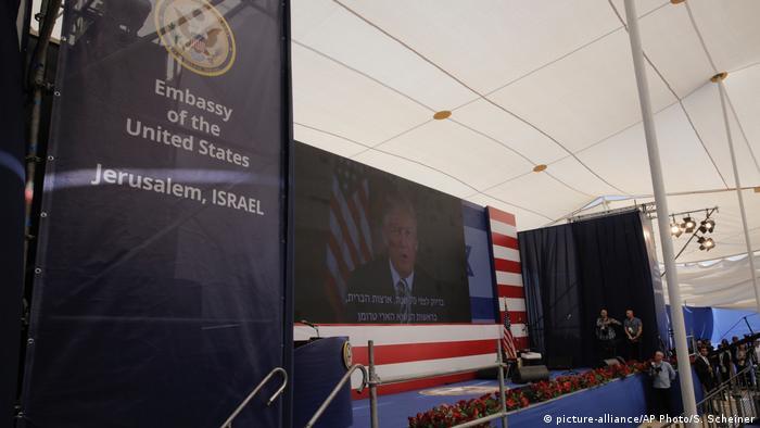 Israel Eröffnung der US-Botschaft in Jerusalem | Videobotschaft von Donald Trump