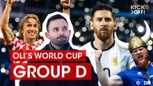 kick off World Cup Group D