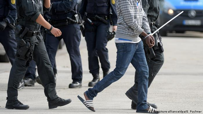 Police arrested the asylum seeker from the shelter