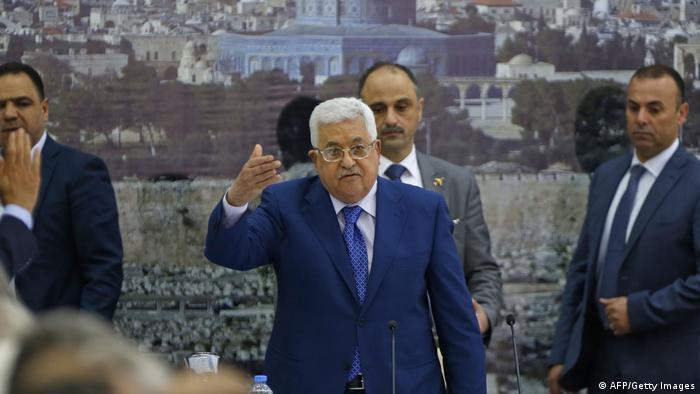 الاتحاد الأوروبي يعبر عن قلقه بعد حل المجلس التشريعي الفلسطيني