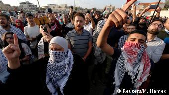تظاهرات در اردن در اعتراض به افتتاح سفارت آمریکا در اورشلیم (بیتالمقدس)