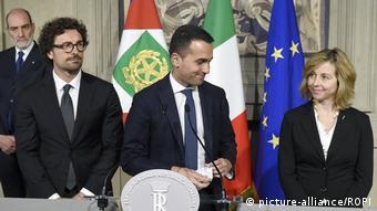 Italien Rom Regierungsbildung