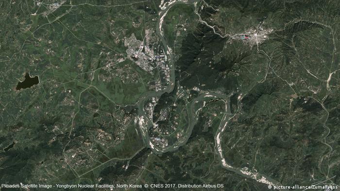 Nordkorea Yongbyon Atomtestgelände (picture-alliance/ZumaPress)