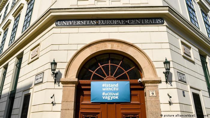 Central European University se mută la Viena