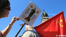 Bulgarien prorussische Demonstrationen in Sofia