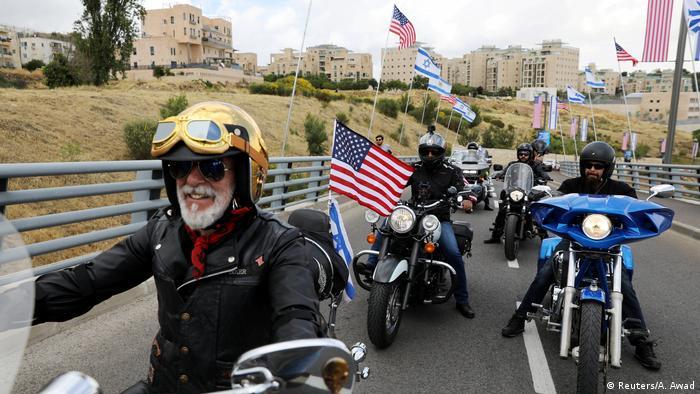 Gaza Israel Konflikt Jerusalem US Botschaft (Reuters/A. Awad)