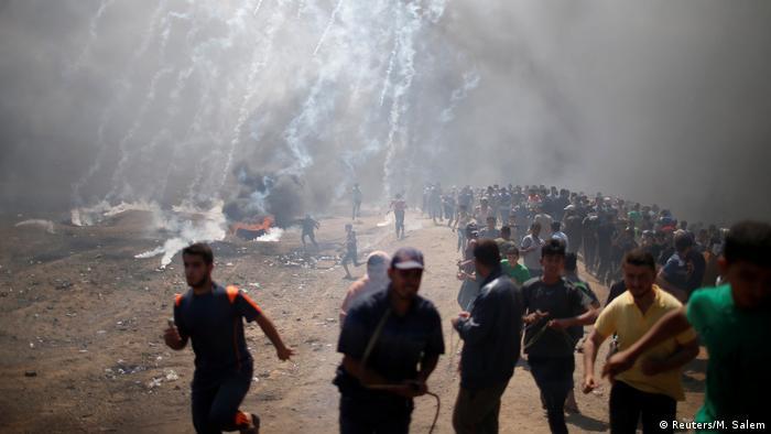 Gaza Israel Konflikt Jerusalem US Botschaft (Reuters/M. Salem)