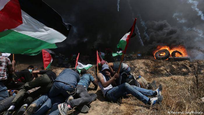 Gaza protests on May 14, 2018